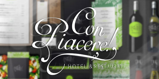 Con Piacere! Hotel & Restaurant // Corporate Design